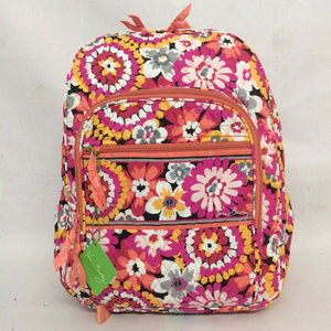 NWT Vera Bradley Campus Backpack Pixie Blooms